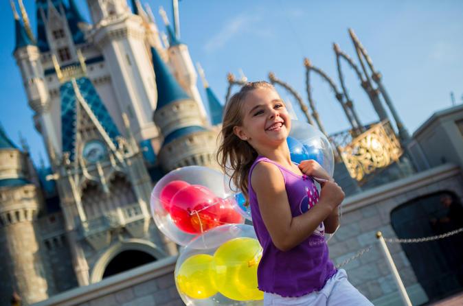 Entrada de 1 dia para o parque temático da Disney World com transporte partindo de Miami