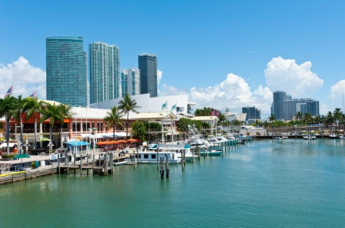 Miami City-tur plus shopping og valgfri sejltur i bugten
