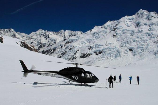 35 minute valley and glacier helicopter tour from mount cook in mount cook national park 283057