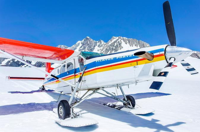 35 minute valley and glacier ski plane tour from mount cook in mount cook national park 287690