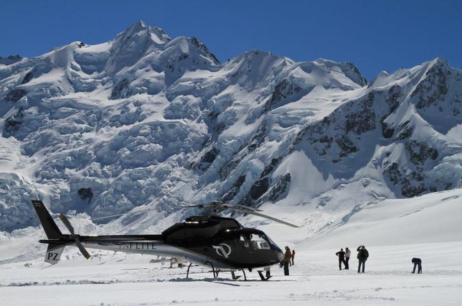 45 minute glacier highlights helicopter tour from mount cook in mount cook national park 282591