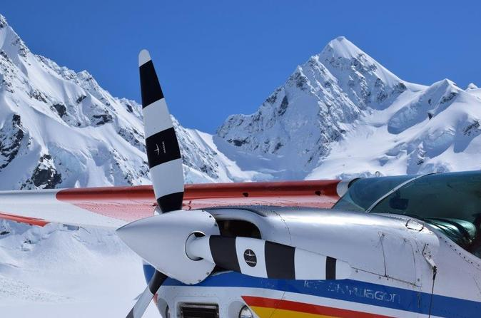 45 minute glacier highlights ski plane tour from mount cook in mount cook 283003