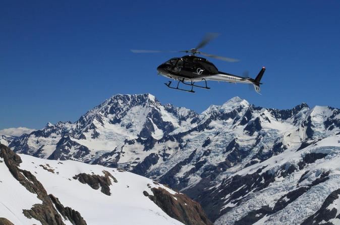 65 minute southern alps helicopter tour from mount cook in mount cook national park 301126