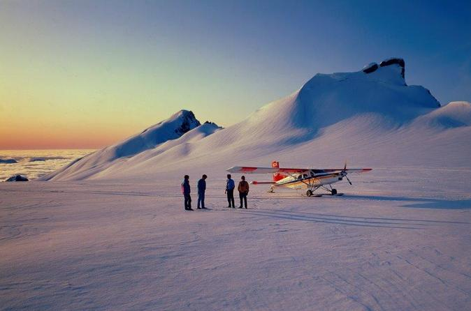 65 minute southern alps ski plane tour from mount cook in mount cook national park 283036