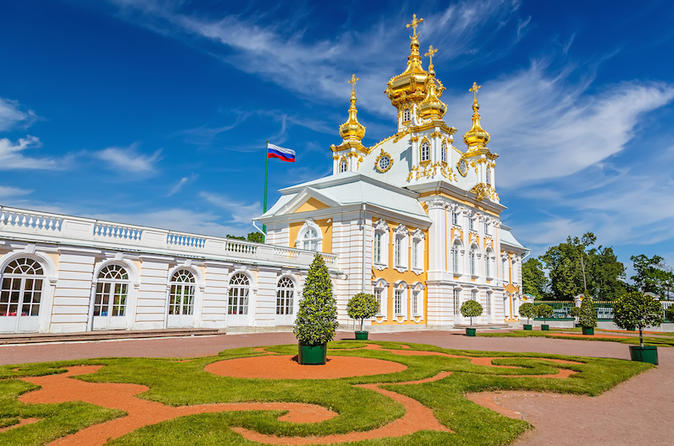 Private Half Day Excursion to Peterhof Palace from St Petersburg