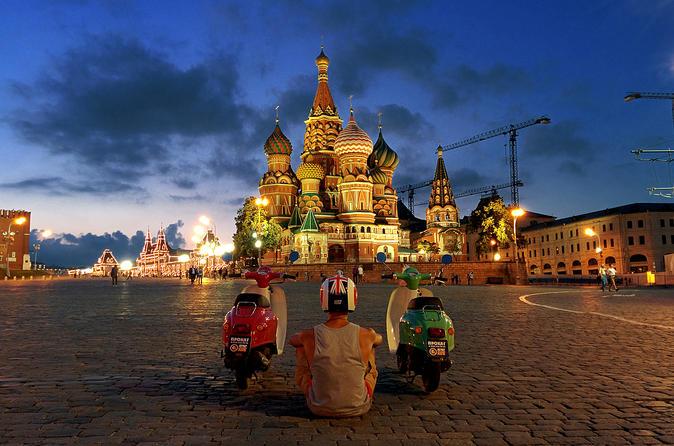 Retro Scooter Tour Around Moscow