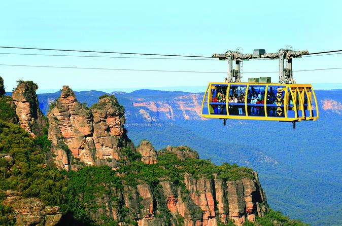 Viagem diurna para grupos pequenos com tudo incluso para as Blue Mountains saindo de Sydney