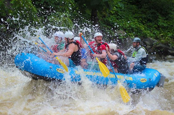 Upper Pigeon Smoky Mountain River Rafting