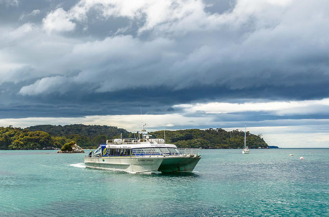 One-Way Ferry to Bluff from Stewart Island