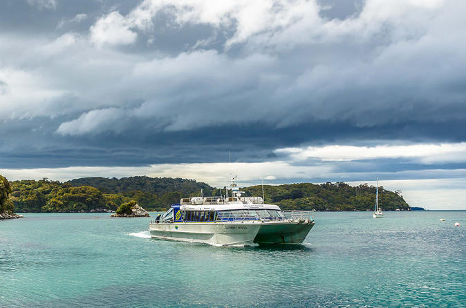 Return Ferry to Stewart Island from Bluff