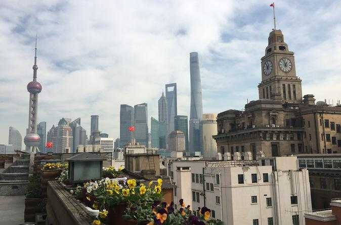 Private Shanghai City Highlights Day Tour with Vegan Lunch