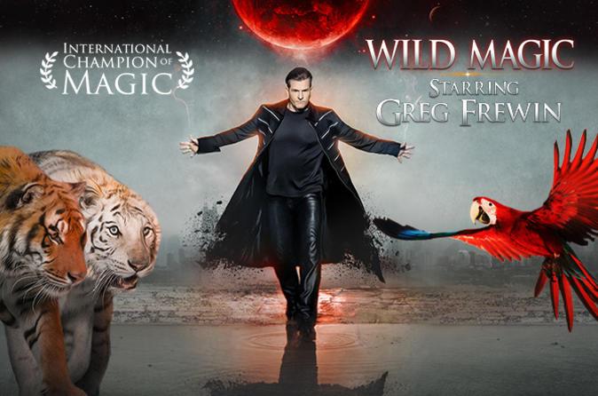 Greg frewin wild magic show in niagara falls 486864