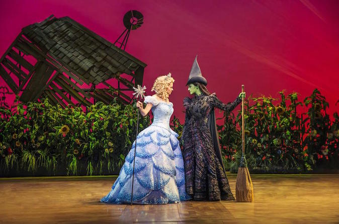 Wicked at the Apollo Victoria Theatre and Dinner Combo