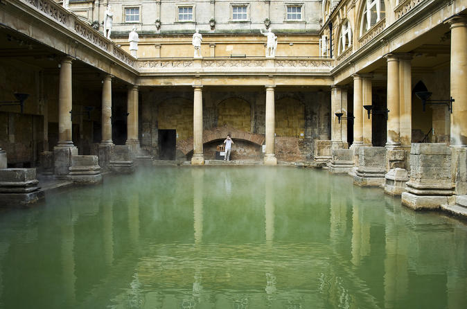 Roman Baths and Georgian Bath Tour United Kingdom, Europe