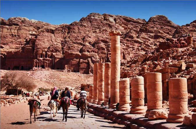 3 Nights 4 Days Private Jordan Glorious Highlights Tour: Petra-Wadi Rum-Aqaba