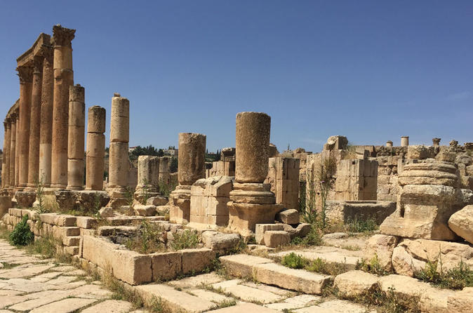 Amman 4 Nights 5 Days Private Jordan Classic to Petra Jerash Dead Sea Jordan, Middle East