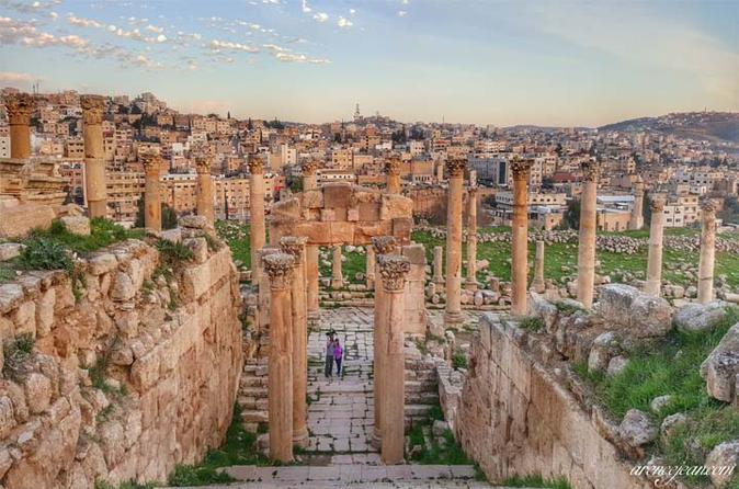 Full-Day Small Group Tour to Jerash with Amman Panoramic Tour from Dead Sea