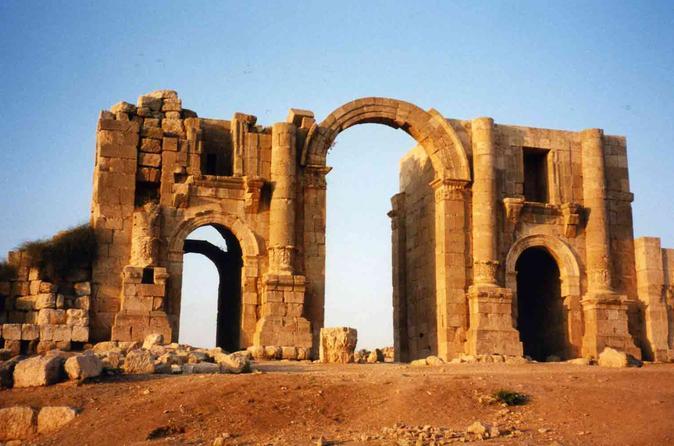 Jerash Ajlun and Amman Panoramic Full Day Tour from Amman