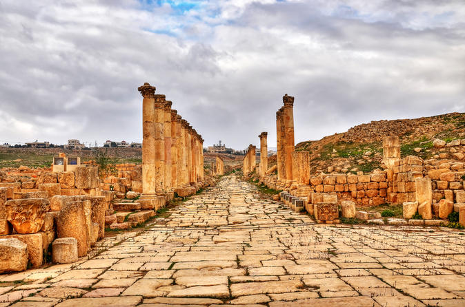 Jordan Private 6-Day Tour: Dead Sea, Mt. Nebo, Amman, Jerash