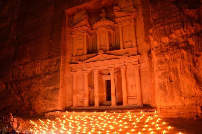 Petra by Night Walking Tour