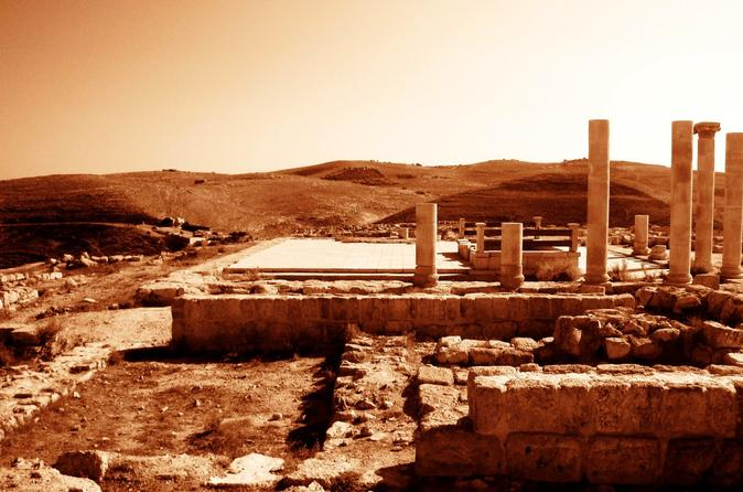 Private Full Day Tour Madaba Mount Nebo and Mukawir from Dead Sea