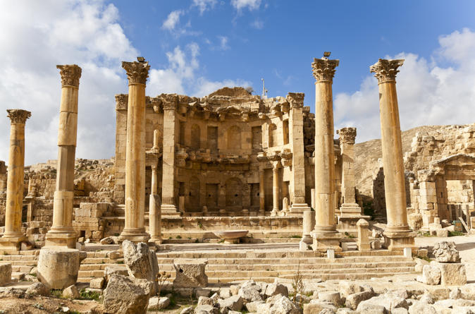 Private half day tour to jerash in amman 140608