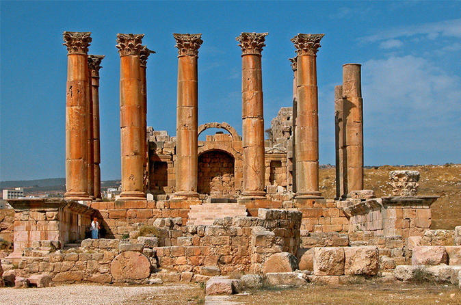 Private North Tour Jerash and Ajlun including Amman Panoramic from Dead Sea