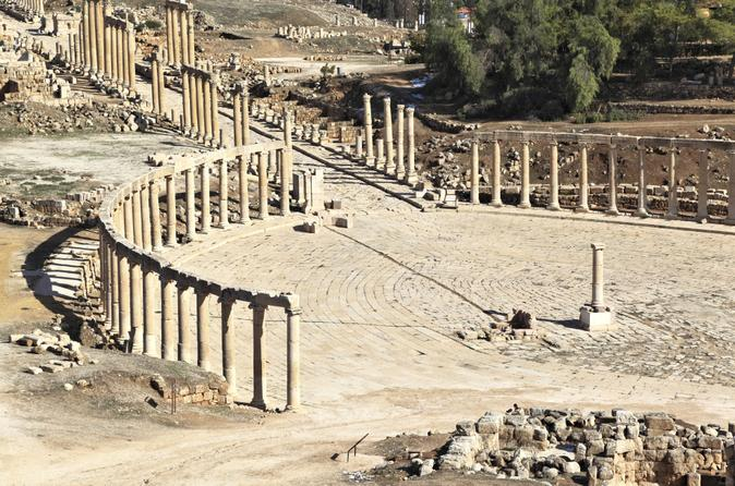 Private Tour: Jerash and Umm Qais Day Trip from Amman