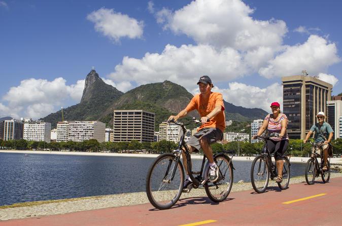 Excursão panorâmica de bicicleta para grupos pequenos no Rio de Janeiro