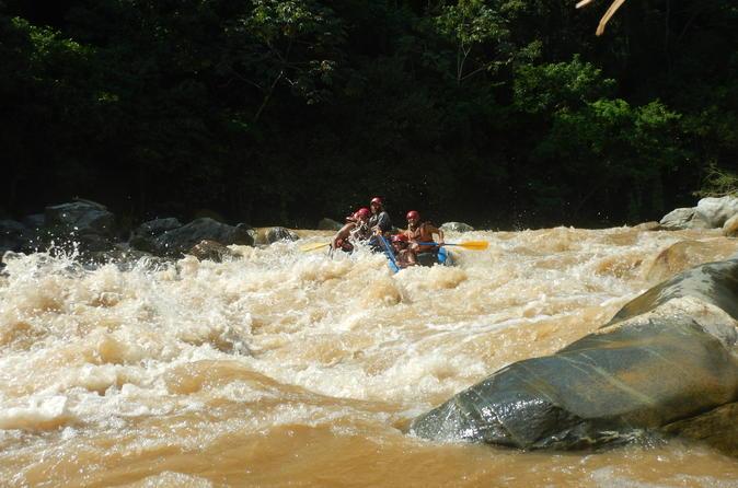 Rafting Adventure on the Copalita River Class II - III
