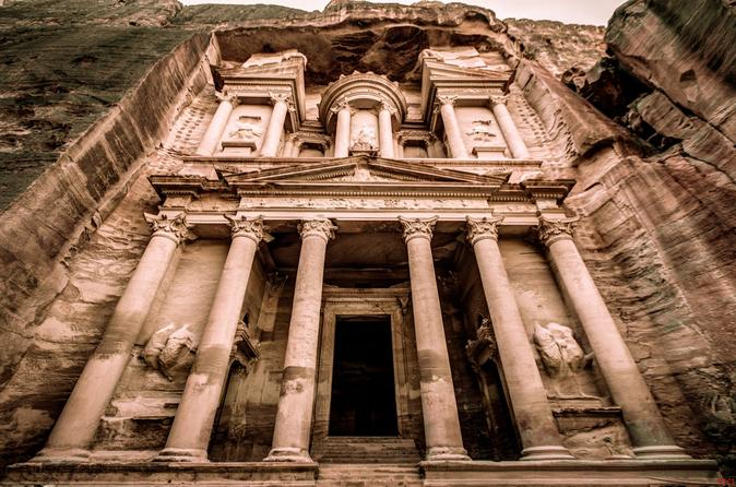 Full day private tour to petra from dead sea in amman 295722
