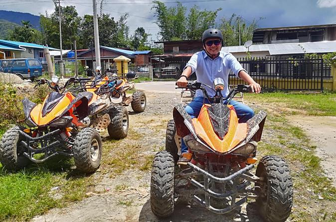 Tambunan Adventure Quad Biking - Kota Kinabalu