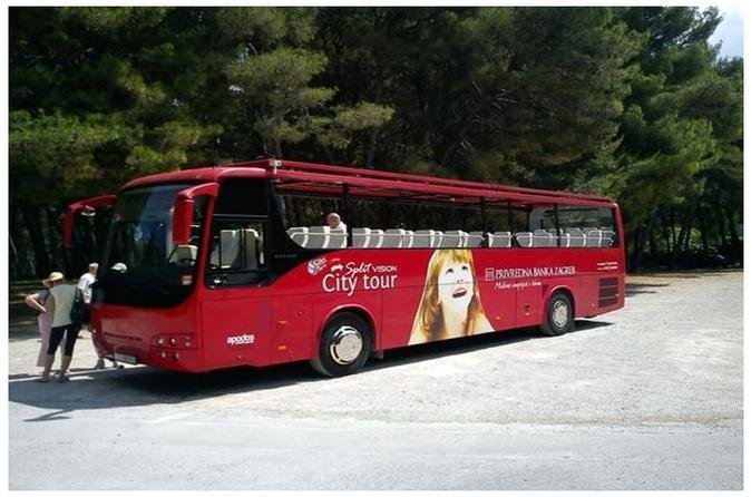 Excursão turística de ônibus em Split
