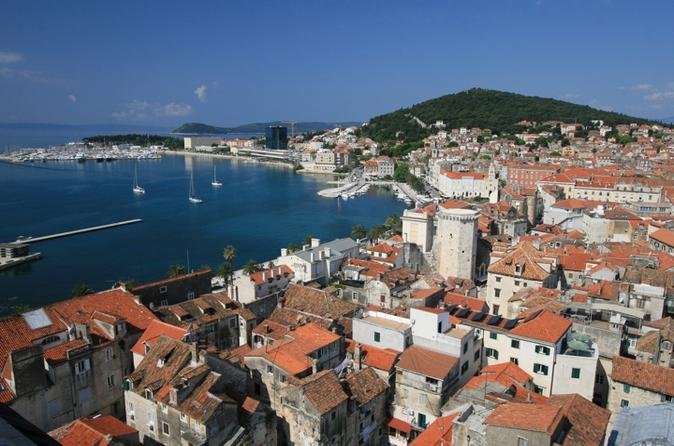 Split Grand Diocletian Bus and Walking Tour