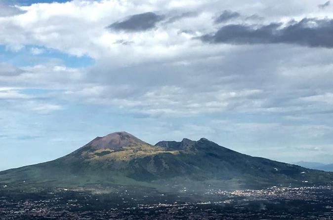 Private Day Trip to Pompeii Ruins & Vesuvius Volcano from Rome