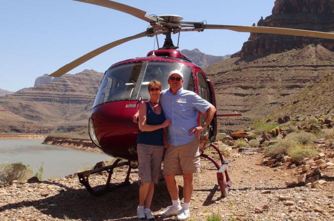 4-in-1 helikoptertour naar de Grand Canyon