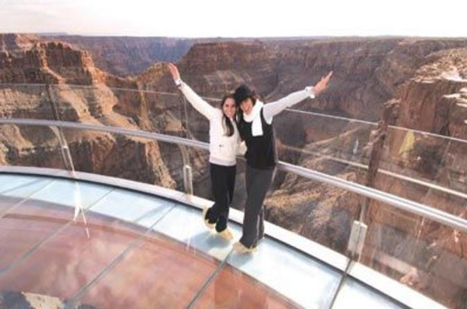 Evite as filas: Passeio expresso de helicóptero para o Skywalk do Grand Canyon