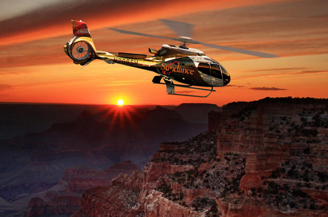 Grand Canyon from Las Vegas West Rim Sunset Helicopter Tour