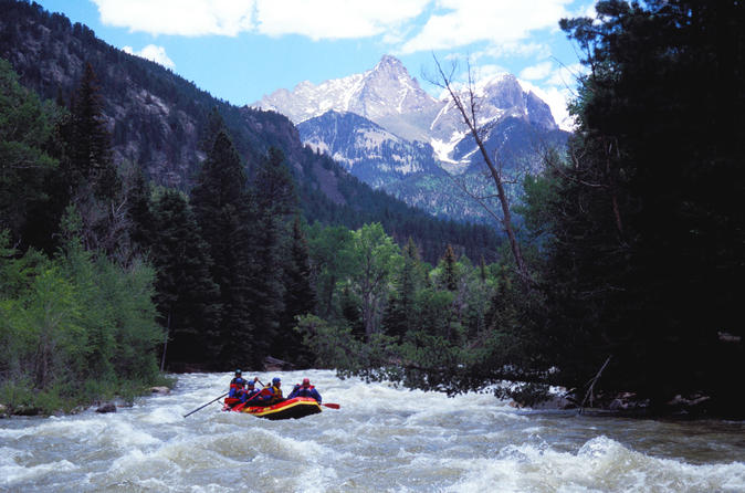 The upper animas silverton section full day rafting trip in silverton 310800