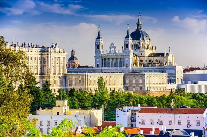 Acesso antecipado ao Palácio Real de Madrid