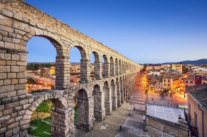 Avila, Segovia and El Escorial Day Tour from Madrid