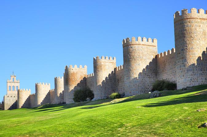 Excursão de Ávila e Salamanca, saindo de Madri