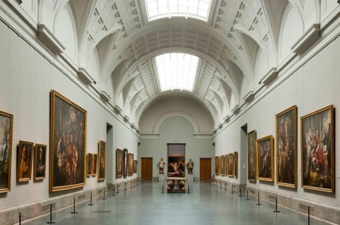 Madrid Golden Triangle of Art Walking Tour: Prado, Reina Sofia and Thyssen Museums