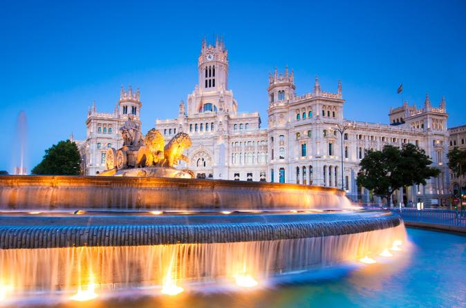 Madrid Highlights Private Walking Tour