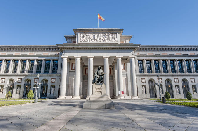 Prado Museum and Royal Palace of Madrid Tour with Skip the Line Entrance