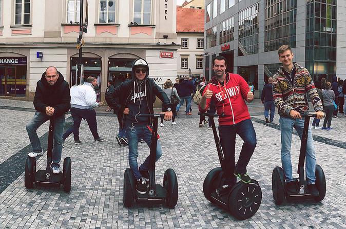 Small group: 3-hour Prague Grand City Tour on Segway Czech Republic, Europe