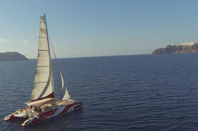 Santorini sailing dream catcher with bbq lunch and drinks in thera 279042