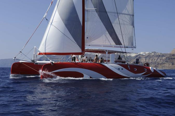 Santorini Sailing Dream Catcher With BBQ Lunch And Drinks 40 Extraordinary Dream Catcher Boat Santorini