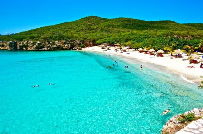 Excursão de dia inteiro pelas praias de Curaçao com embarque no hotel ou no porto