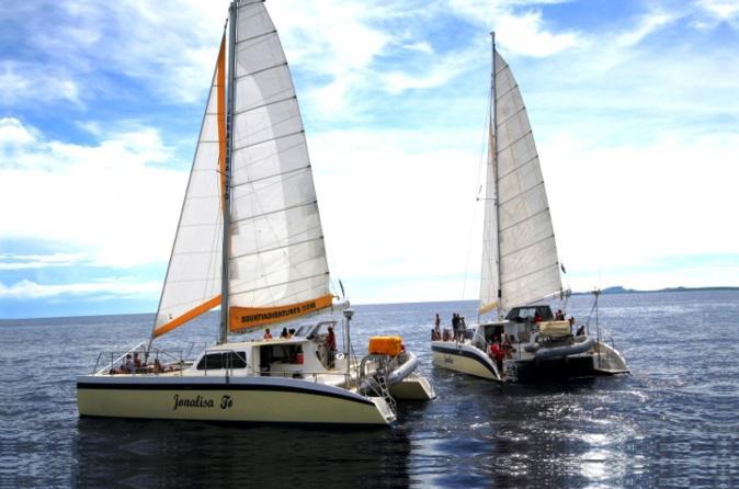Excursão de meio dia de Curaçao mergulho com snorkel e navegação com almoço